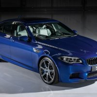 BMW M5 Saloon Individual in San Marino Blue