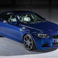 BMW M5 Saloon Individual in San Marino Blue