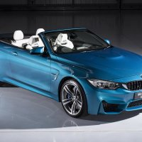 BMW M4 Convertible Individual in Atlantis Blue