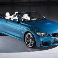 BMW M4 Convertible Individual in Atlantis Blue