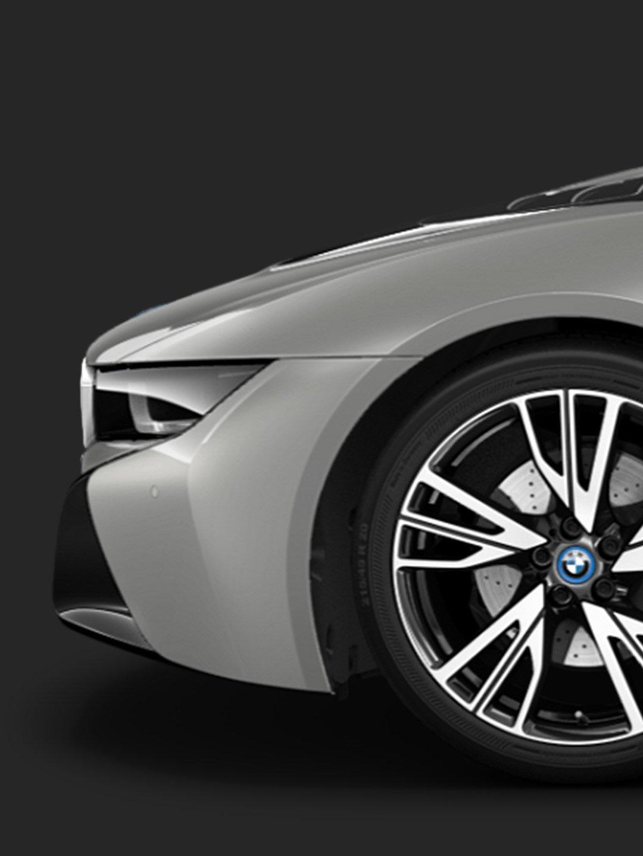 The BMW i8 Coupé