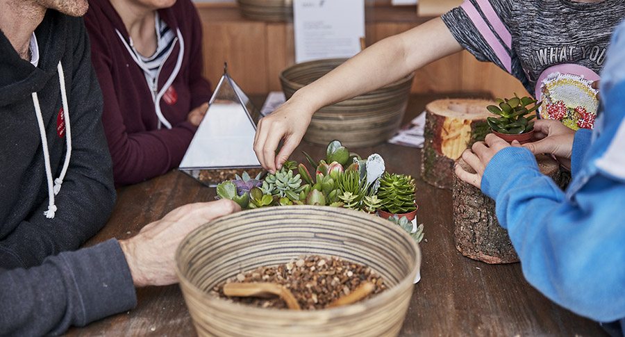 'Create with Nature' workshop