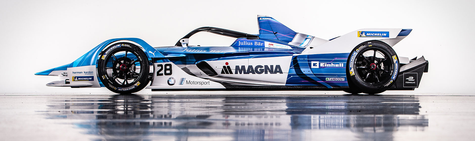 The new BMW iFE.18 for the ABB FIA Formula E Championship