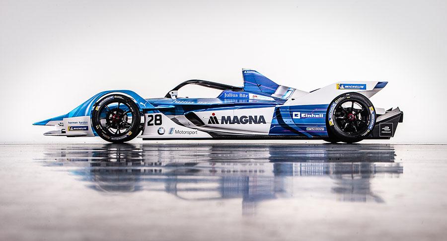 The new BMW iFE.18 for the ABB FIA Formula E Championship