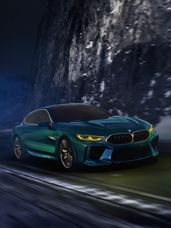 BMW Concept M8 Gran Coupé