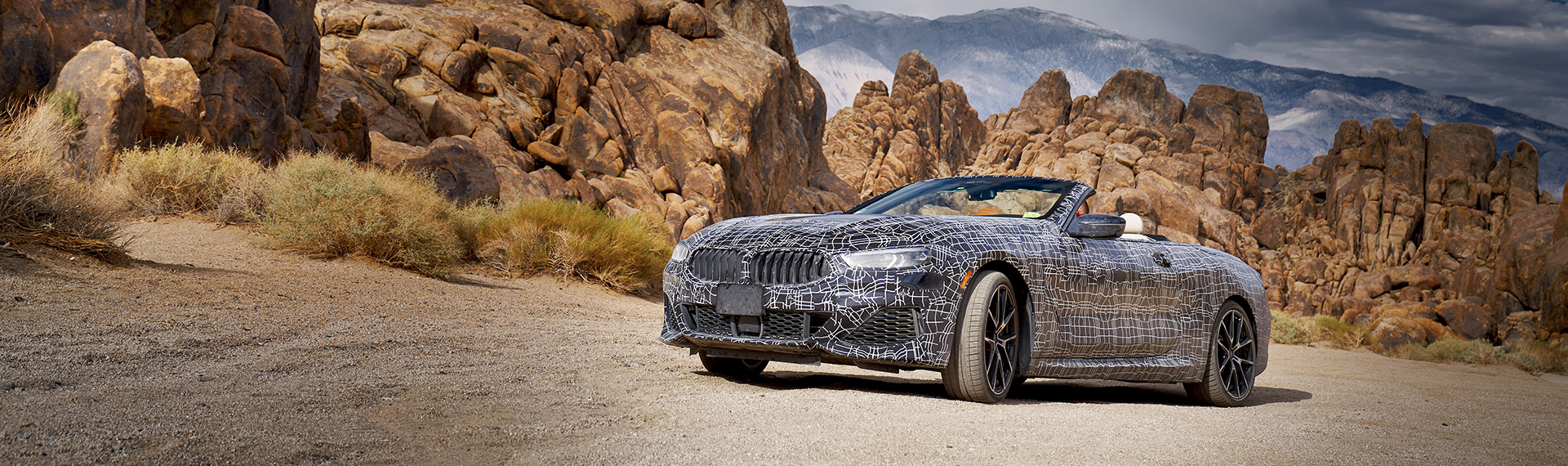 BMW 8 Series Convertible prototype