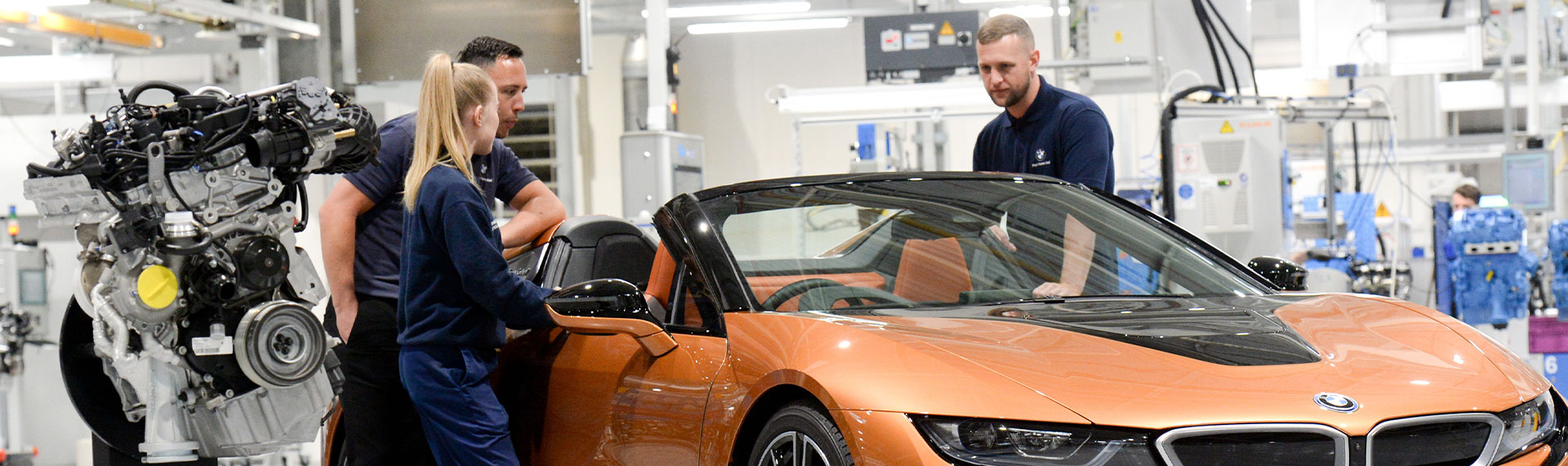 BMW i8 Production.