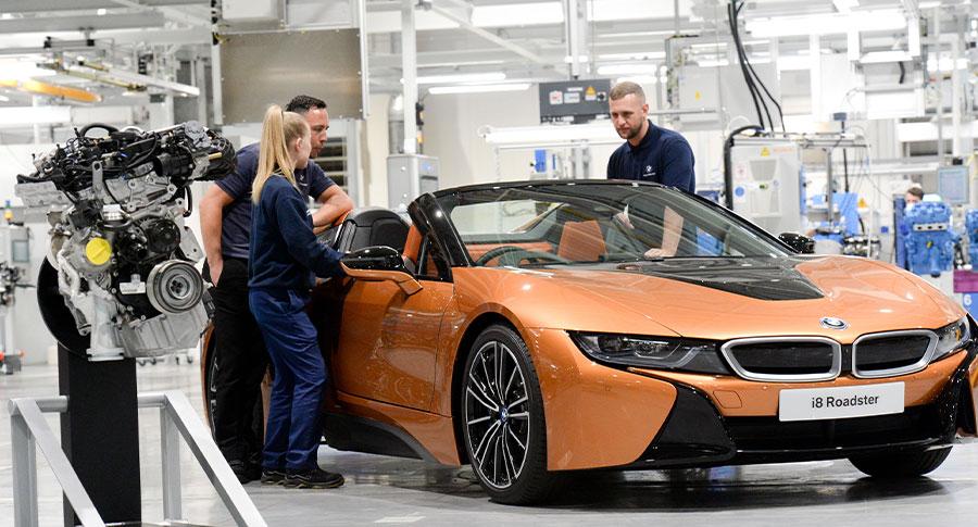 BMW i8 Production.