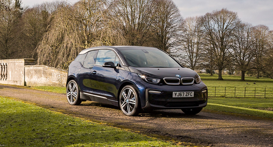 BMW i3 front three-quarter profile