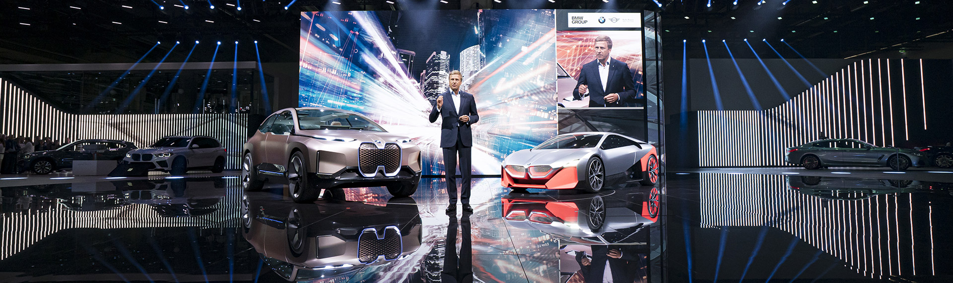 Oliver Zipse, Chairman of the Board of Management of BMW AG has announces new targets
