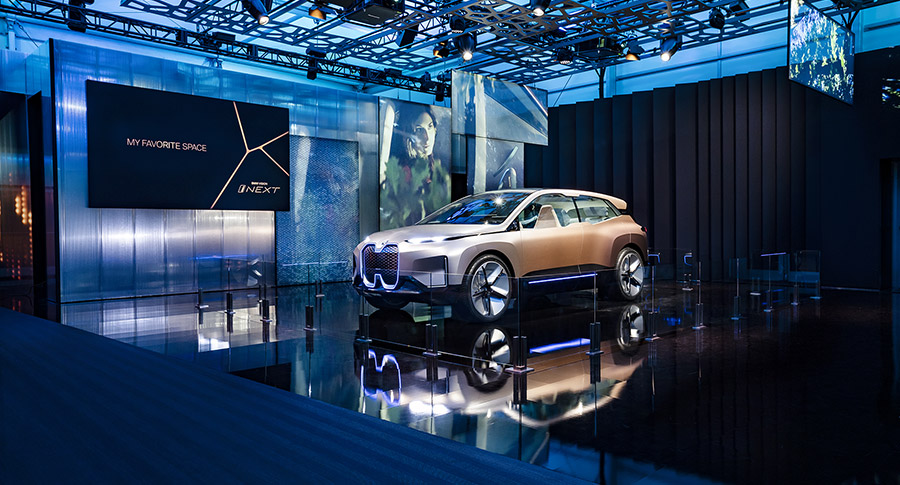 BMW VISION iNEXT at 2019 CES
