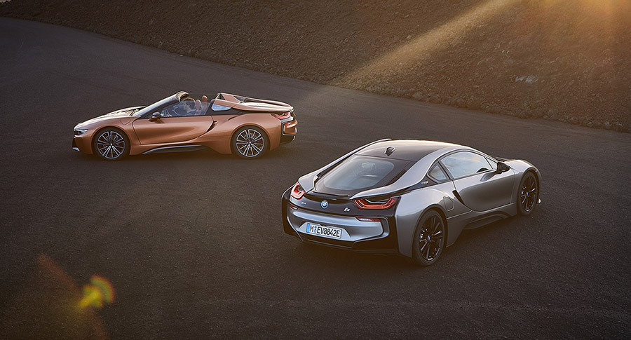 BMW i8 Coupé and Roadster
