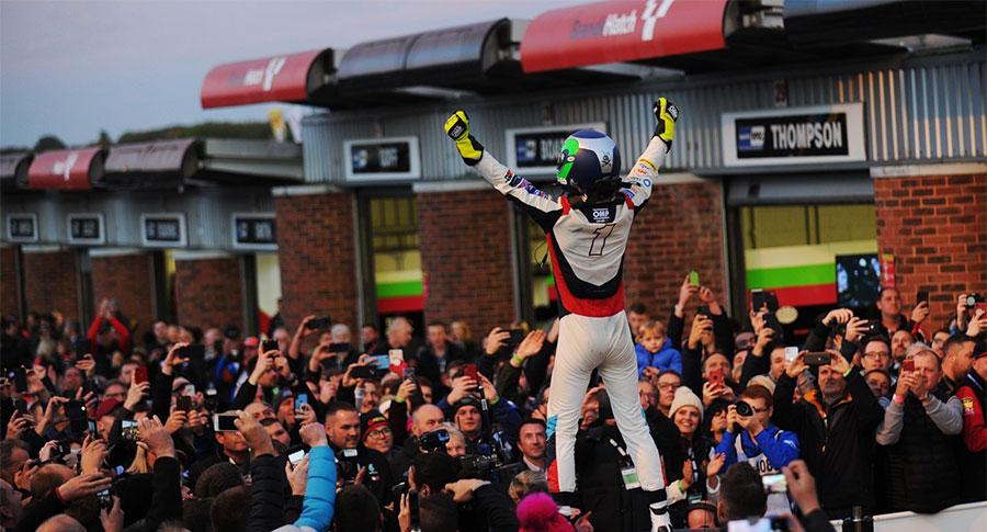 Colin Turkington wins fourth championship title