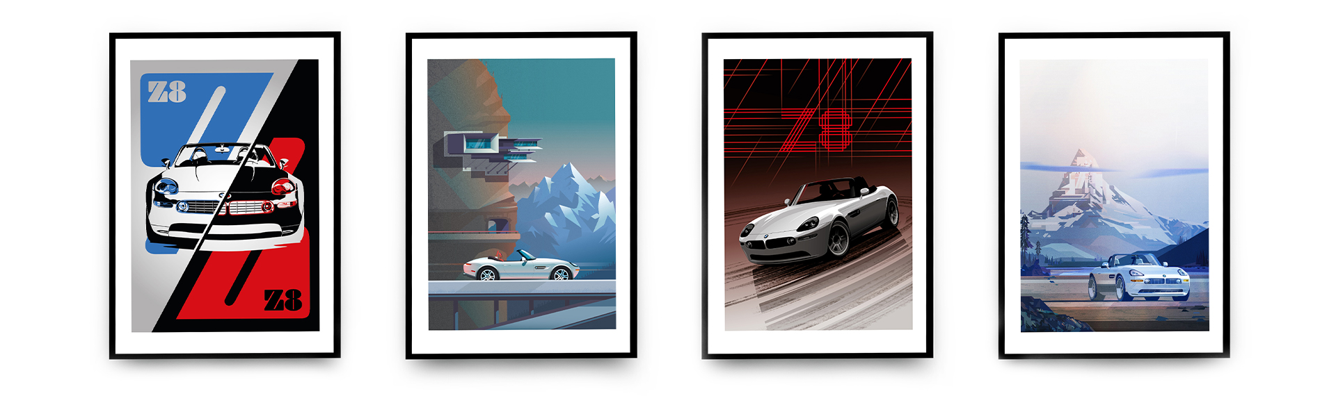BMW Z8 Limited Edition Prints