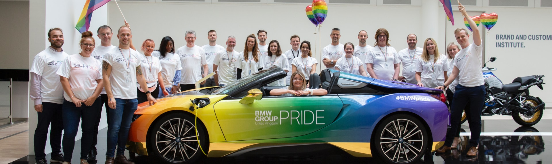 BMW Pride Team photo