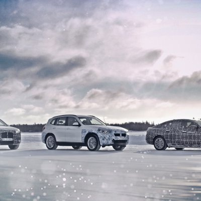 FUTURE BMW i MODELS GET THE COLD TREATMENT.
