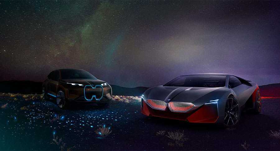 BMW's latest Vision concept cars