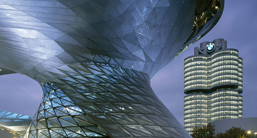 BMW Headquarters, Munich.