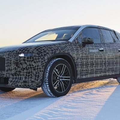 BMW iNEXT UNDERGOES WINTER TRIAL TESTS.