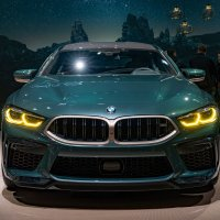 The all-new BMW M8 Gran Coupé First Edition.