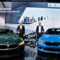 The all-new BMW M8 Gran Coupé and BMW M2 CS at the LAAS 2019