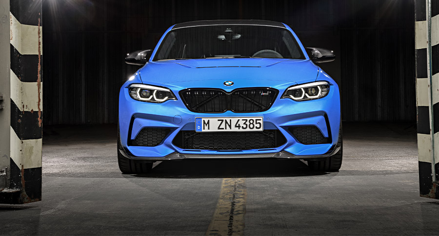 The new BMW M2 CS at the LAAS 2019