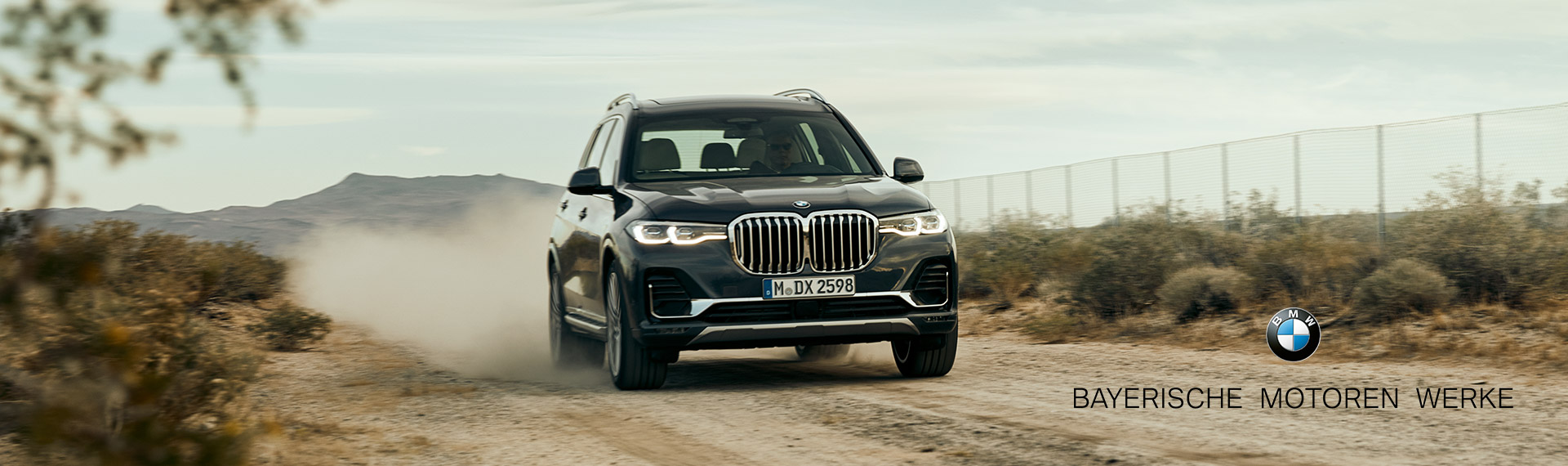 The BMW X7 Front Shot