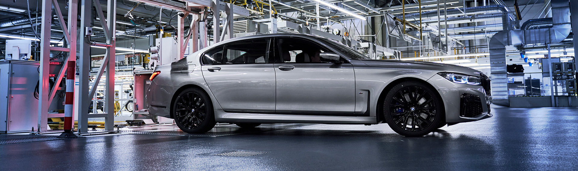 New BMW 7 Series production.