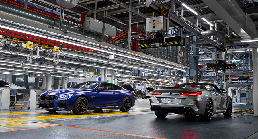 New BMW 8 Series in production