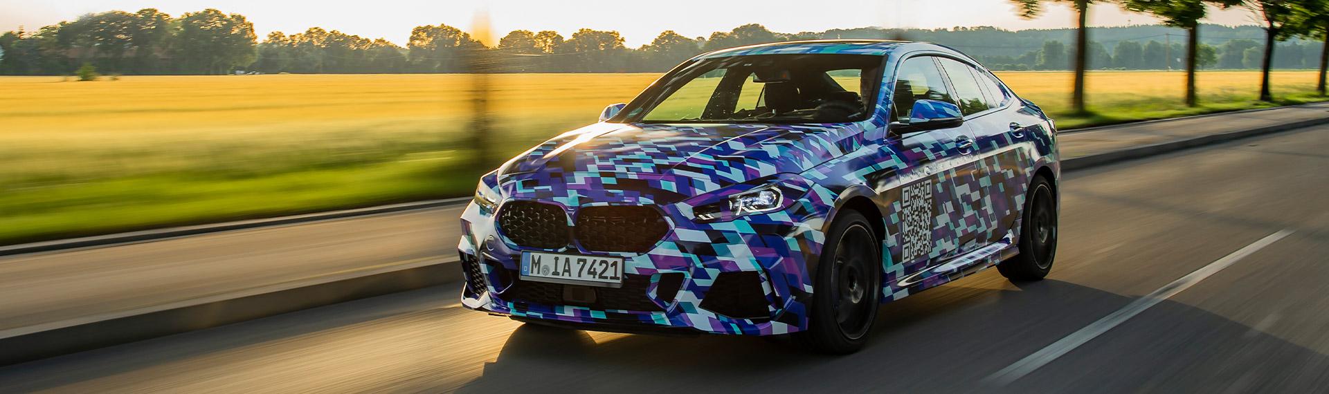 New BMW 2 Series Gran Coupé.
