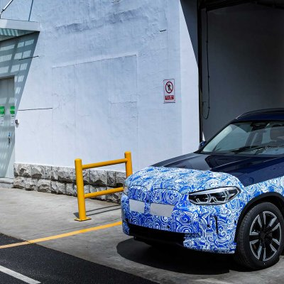 BMW iX3 PRODUCTION ON TRACK.