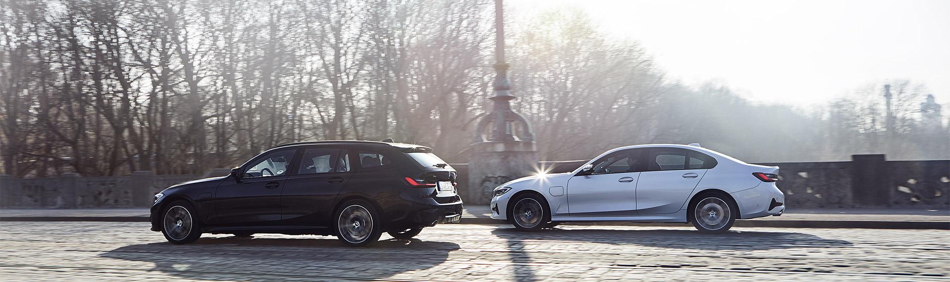 BMW 3 Series Touring Plug-in Hybrid and BMW 3 Series Saloon Plug-in Hybrid