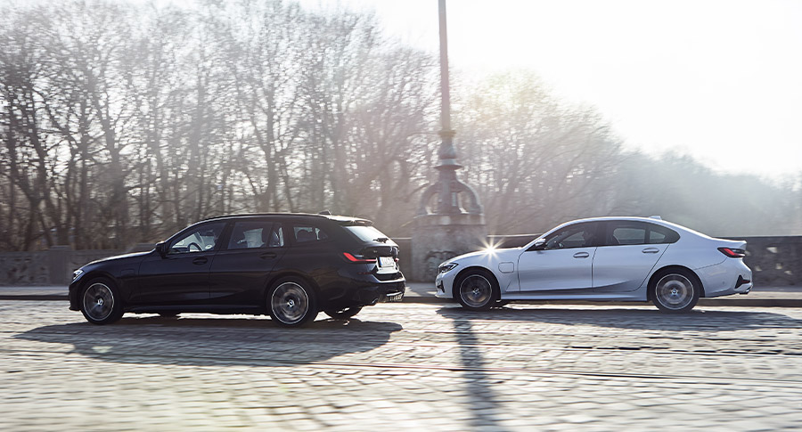 BMW 3 Series Touring Plug-in Hybrid and BMW 3 Series Saloon Plug-in Hybrid