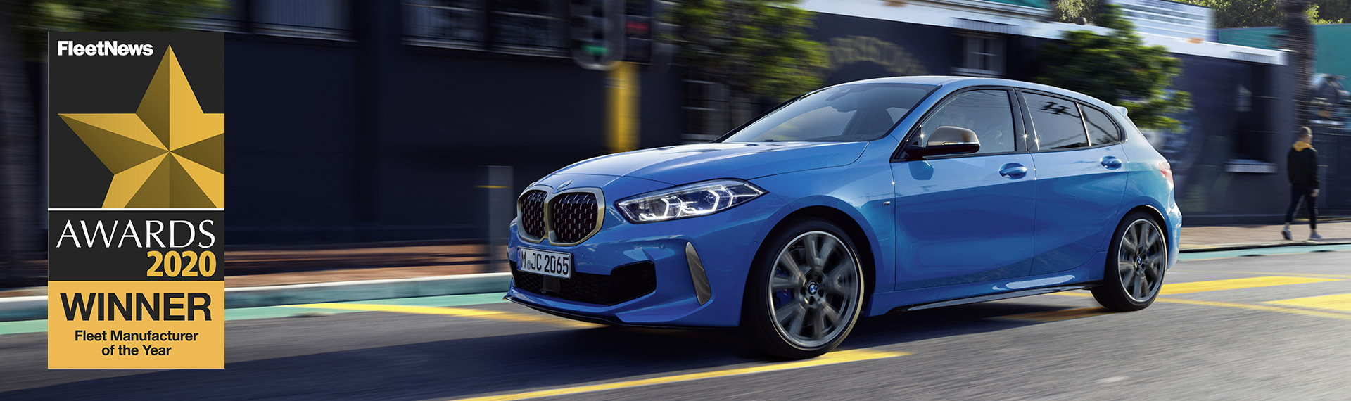 BMW 1 Series Sports Hatch side view