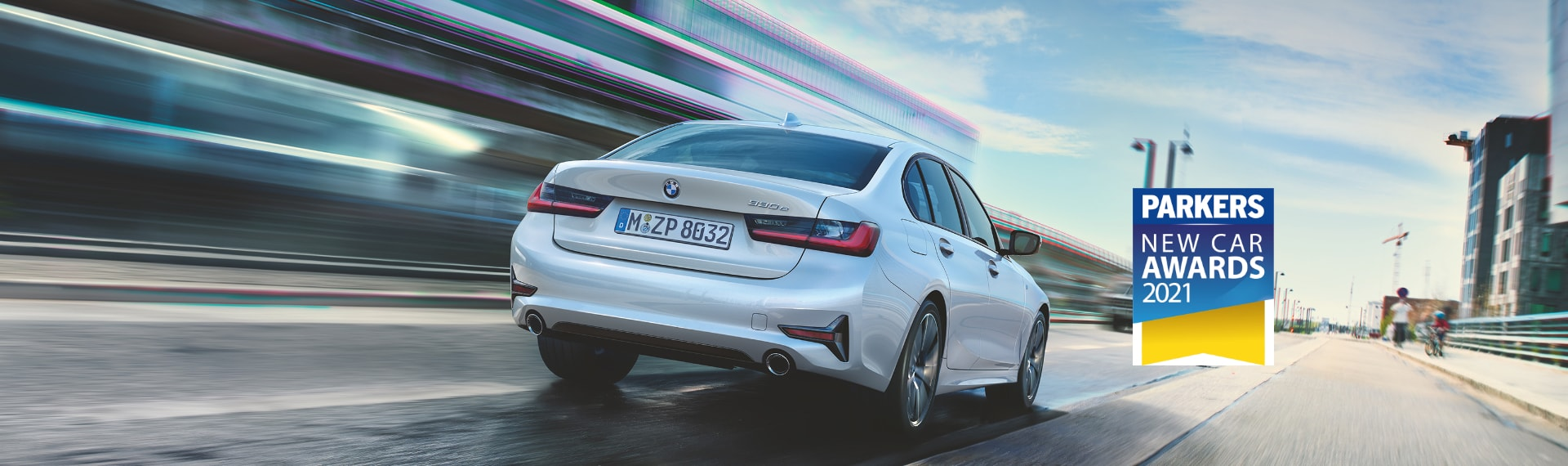 Rear image of BMW 3 Series Plug-in Hybrid