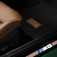 Image of floor matt of BMW M8 Gran Coupé First Edition 1 of 8