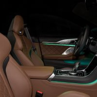 Interior shot of the BMW M8 Gran Coupé First Edition 1 of 8