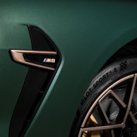 Image of side M gills on BMW M8 Gran Coupé First Edition 1 of 8