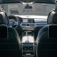 BMW X7 Dark Shadow Edition interior shot