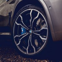 BMW X3 M Competition wheel